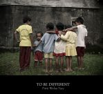 To be different by poetry2capullet