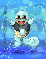 Jesse Cox Squirtle commission by Blue-Fayt