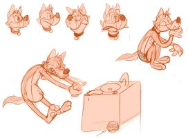 Silly doodles 2 by valdo-wolf
