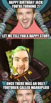 Never invite pewds to jack birthday by aiko-sweetgirl