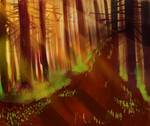 forest practice by animeloverFTW