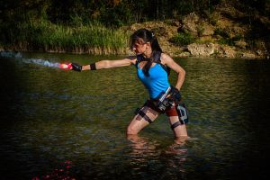 Lara Croft and the Temple of Osiris by LiSaCroft