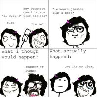 Rage Comics- I think I need glasses... by kimtan1999