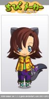 Willow Wolff Chibi by QueenofRandomness108