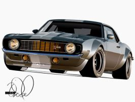 Hot Rod Camaro by cityofthesouth