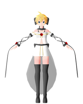 MMD The Lost Memory LEN Model Remake by ChiharuYuuka
