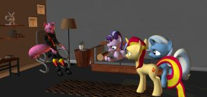 Group Therapy Session by HectorNY