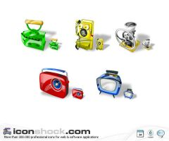 Antiques Web Icons WIN by Iconshock