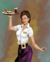 Five and Dime Waitress Updated by DuffPappy