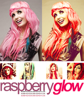"""action 030 """"RASPBERRY GLOW"""" by ModernActions"""