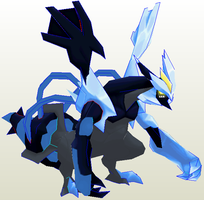 Black Kyurem Preview by javierini
