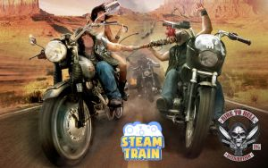 Steam Train - Ride to Hell: Retribution Wallpaper by EyebrowScar