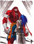Street Fighter - Sonic vs. Knuckles by randomfan11