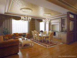 3D-visualization of the apartments of 170 square m by PavelLi86