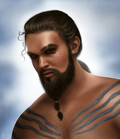 Khal Drogo by hello-ground