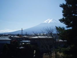 Mount Fuji by luccide