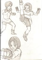Videl's Fighting Moves2 by dougurasu