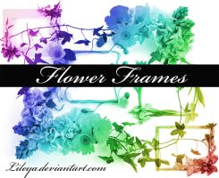 Flower Frame brushes imagepack by Lileya