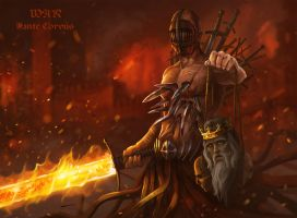 War - Four Horsemen of the Apocalypse by Dan by DanteCyberMan