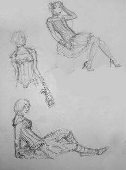 Sketch Group - Gothic 1 by xben
