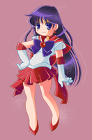 Sailor Mars by Hadibou