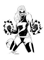 Ms Marvel by billmeiggs