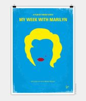 No284-My-week-with-Marilyn-minimal-movie-poste by Chungkong