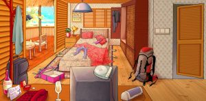 the bedroom by pigerbaba