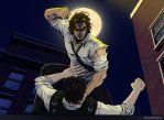 Seb vs Bigby 4 by Grace-Zed