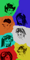 HS: Troll sketches by EzzyAlpha