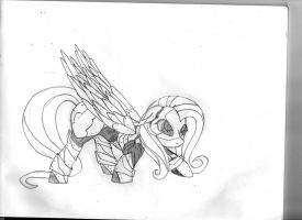 Kindness MS05 Flutterbot sketch by BaroqueDavid
