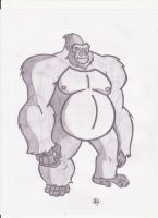 Gorilla Grodd Sketch by rob-T512