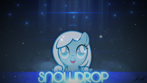 Snowdrop Wallpaper by Qutiix