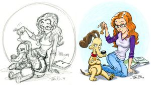 Dog Training Commission by tombancroft