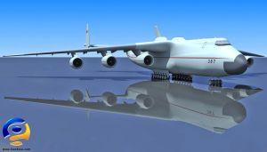 3D Antonov An 225 Soviet Union by Gandoza