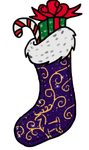 Misfit Christmas Stocking by Drasayer