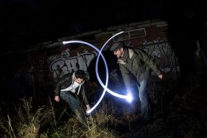 Long Exposure + Flash Gun 6 by adamjamescooper