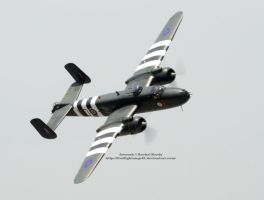 B-25J Mitchell by 8TwilightAngel8