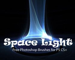 Space Light Brushes for Photos by fiftyfivepixels