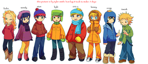 new southpark art by tylersmithish