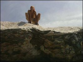Posing on the rocks by strangmusicobsession