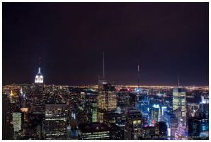 NYC - Night View From TOTR by jpgmn