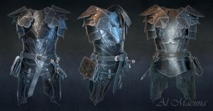 Dark Elven Armor by Shattan