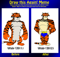 Draw it Again - Vitaly by BennytheBeast