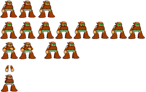 Wood Man misc sprites by Greasy-LucarioYun
