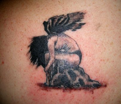 Fallen Angel Tattoo Pic by WikkedOne