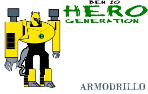 Hero Generation - Armodrillo by captain-lelouch