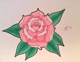 Traditional Rose by JCecalaIV