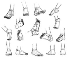 Shape Breakdowns: Feet by Robo-Shark