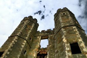 HDR Cowdray House Ruins by lorni3